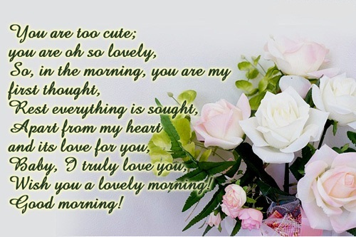 Greatest Good Morning Messages For Her