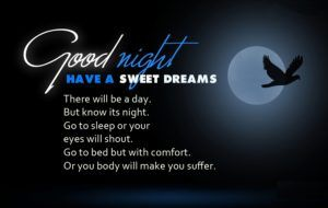 Greatest Good Night Messages For Sister