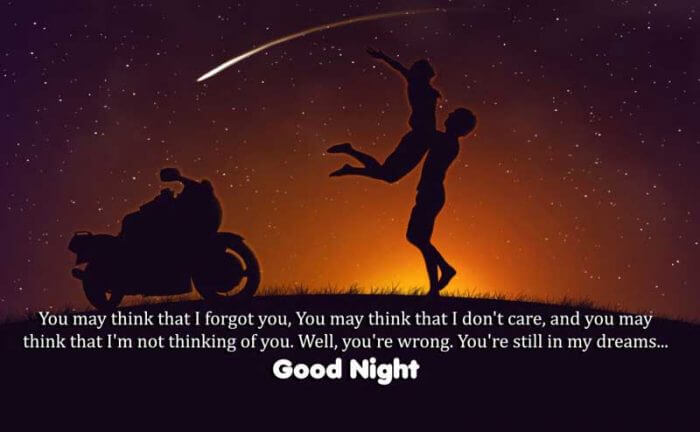 Good Night Wishes Messages For Cute Girlfriends
