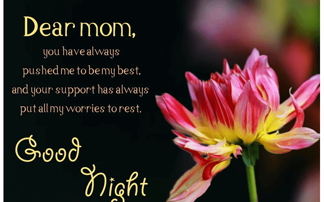 Greatest Good Night Messages For Mother