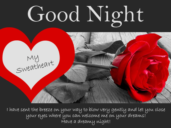 Sexy Good Night Wishes Messages For Husband