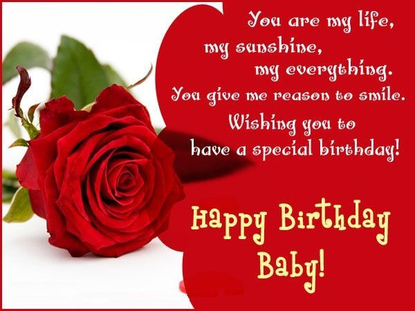 Birthday Wishes For Girlfriend With Romantic SMS