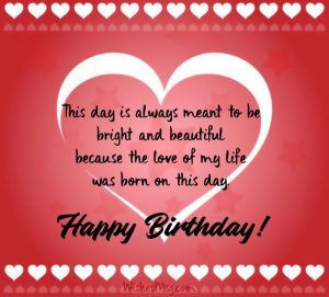 Birthday Wishes For Boyfriend With Romantic Love Quotes {14 ...