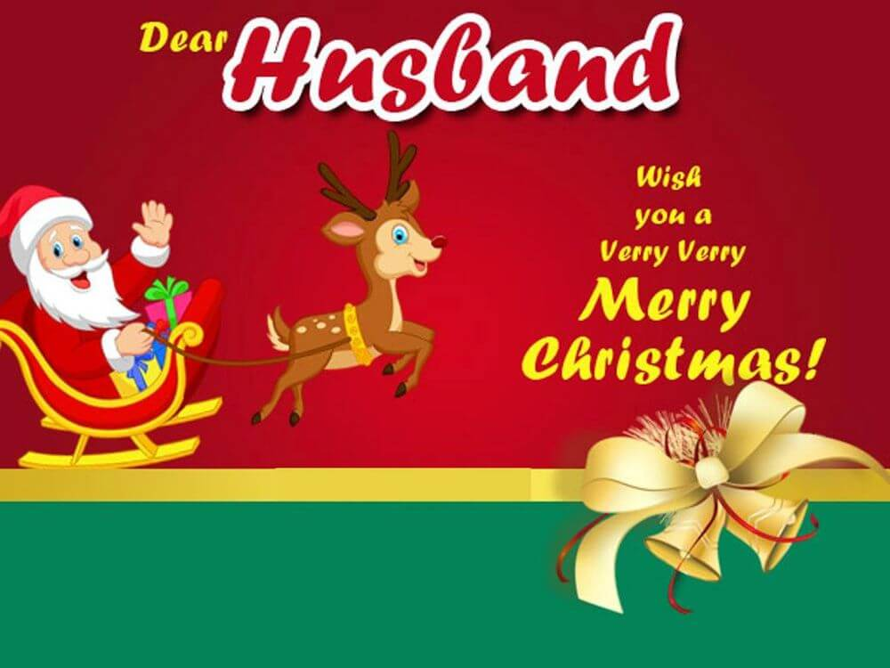 Merry Christmas Husband Images
