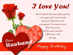 Birthday Wishes For Husband With Love Quotes