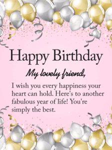 Birthday Wishes For Friend With Quotes Sms Latest Wishes Quotz