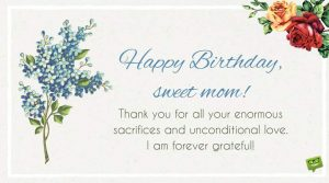 Birthday Wishes For Mom  With Images