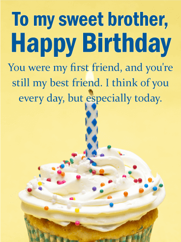 Terrific Birthday Wishes For Brother With Quotes Messages 2020 Wishes Personalised Birthday Cards Bromeletsinfo