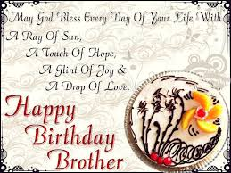 birthday wishes for brother With Lovely Images